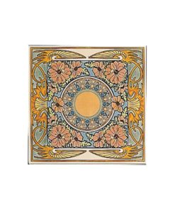 Stovax Evening Reverie Floral Tile