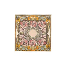 RT108 - Stovax Nocturnal Slumber Floral Tile (4492)