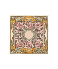 Stovax Nocturnal Slumber Floral Tile