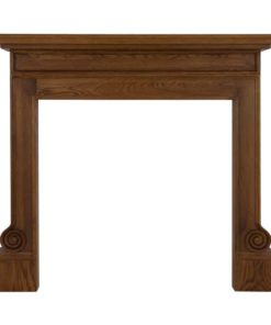 Carron Volute Wooden Fire Surround