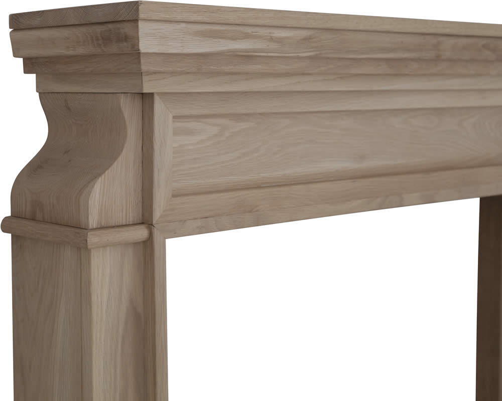 Carron Clive Wooden Fire Surround
