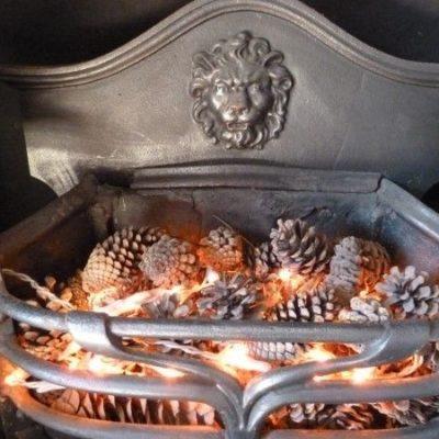 FB000 - Original Arts And Crafts Fire Basket