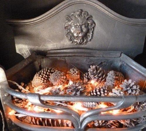 Original Arts And Crafts Fire Basket