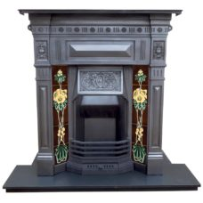 "COMBI318 - Antique Combination Fire (46.25""H x 42""W)"