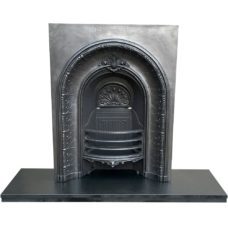 "INS313 - Arched Fireplace Insert (36""H x 28""W)"