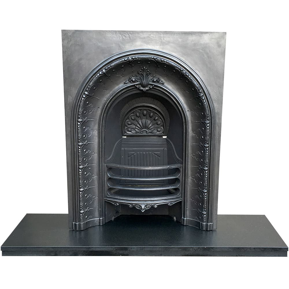 arched fireplace insert from fireplace store