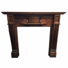"TS086 - Antique Mahogany Fire Surround (53""H x 54""W)"