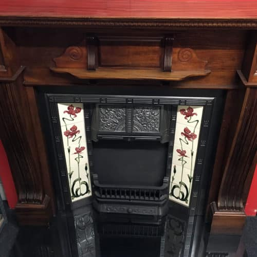 Antique Mahogany Fire Surround