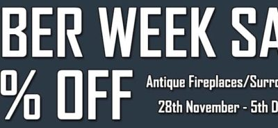 Cyber Week Sale - 20% OFF Original Fireplaces & Tiles