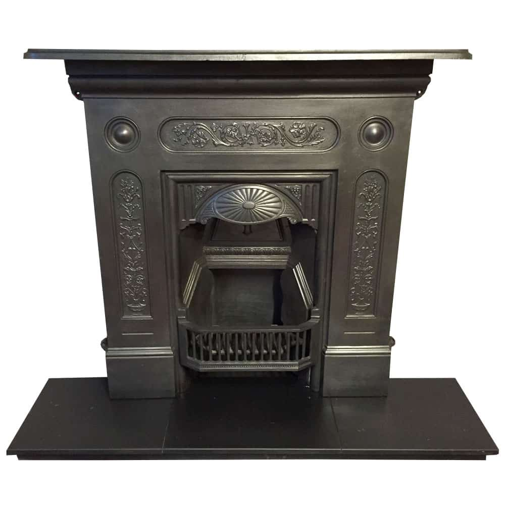 Cast Iron Bedroom Fireplace From Victorian Fireplace Store