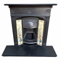 "COMBI323 - Ribbon Combination Fireplace (46""H x 42""W)"