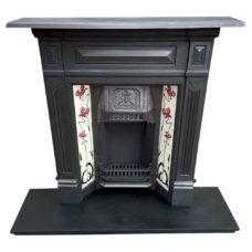 "COMBI324 - Paneled Combination Fireplace (46""H x 41""W)"