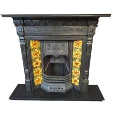 "COMBI326 - Grand Combination Fireplace (44.75""H x 48""W)"