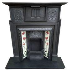 CS063 - Coalbrookdale Fireplace Surround (54″H x 42.5″W)