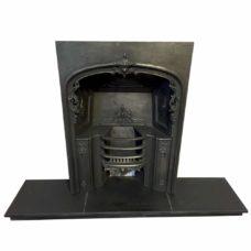 "INS318 - Cast Iron Fireplace Insert (38""H x 26""W)"