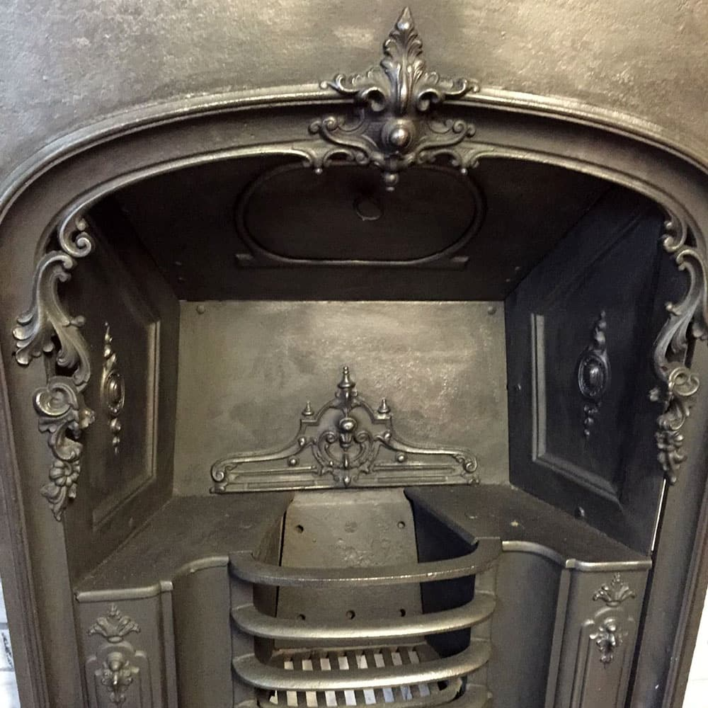 Cast Iron Fireplace Insert From Victorian Fireplace Store