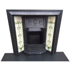 "INS323 - Decorated Urn Fireplace Insert (36""H x 36""W)"