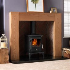 "Albero Mantel Fire Surround (Natural Oak) (52"")"