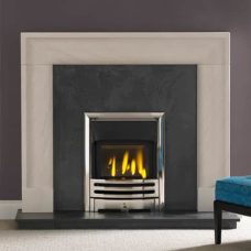 "Arlington Mantel Fire Surround (Portuguese Limestone) (52.5"")"