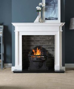 "Aversa Mantel Fire Surround (Agean Limestone) (58"")"