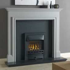"Gallio Mantel Fire Surround (Manor Grey Or Parchment White) (54"")"