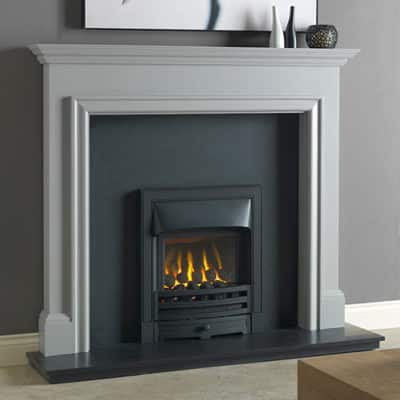 "Gallio Mantel Fire Surround (Manor Grey Or Parchment White) (54"")"