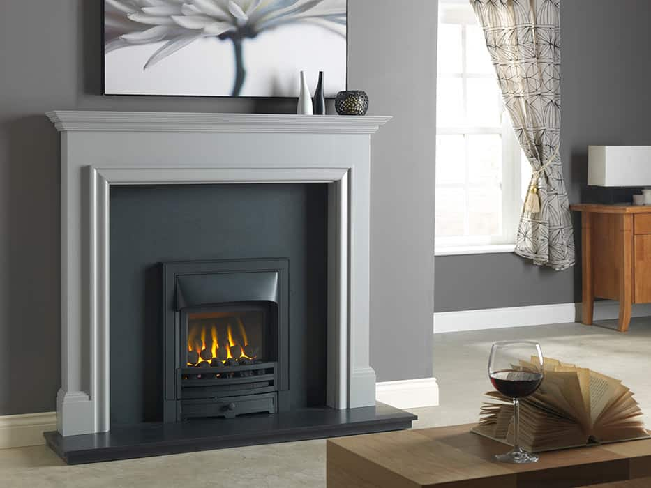 Gallio Mantel Fire Surround In Manor Grey