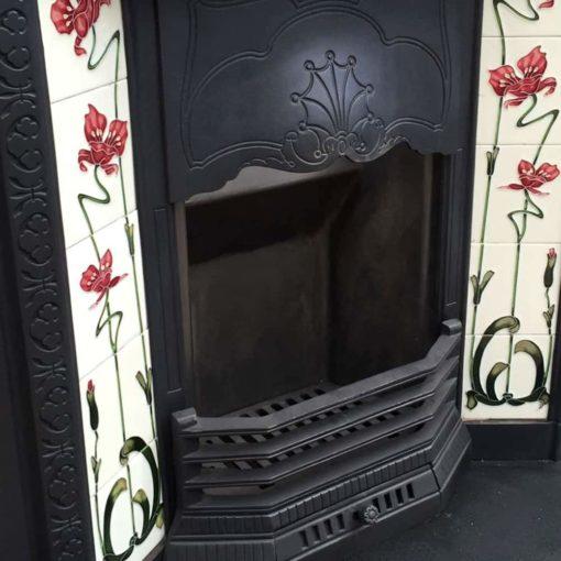 Antique Original Fire Insert
