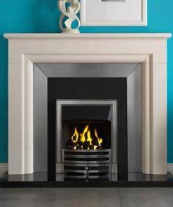 "Monza Mantel Fire Surround (Portuguese Limestone) (54"")"
