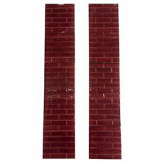 OT272 - Red Brick Pattern Fireplace Tiles