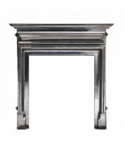"Fully Polished Palmerston Cast Iron Fireplace Mantle (54"")"