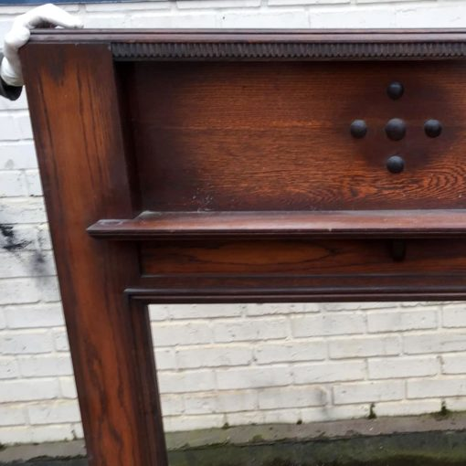 Antique Timber Fire Surround