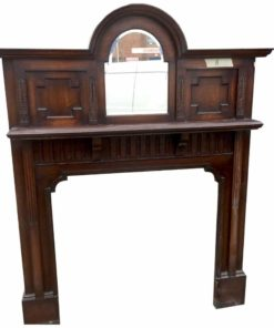 Antique Top Mirror Fire Surround