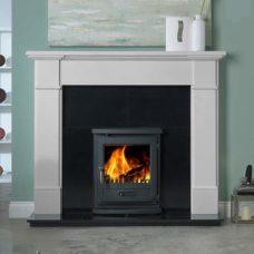 """Velletri Mantel Fire Surround (Agean Limestone) (58"""")"""