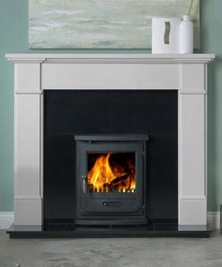 "Velletri Mantel Fire Surround (Agean Limestone) (58"")"