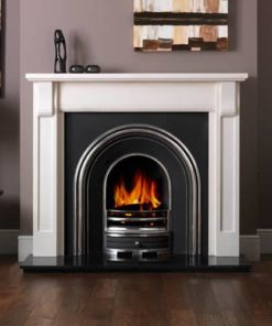 "Verona Mantel Fire Surround (Agean Limestone) (55"")"