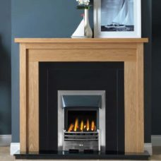 GAL069 - Askham MDF Mantel Surround (Light Oak)