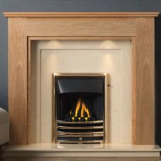 GAL070 - Atwick MDF Mantel Surround (Light Oak)