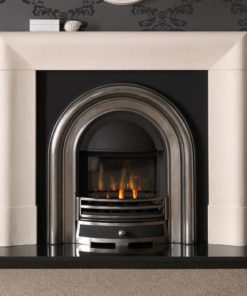 Delection Agean Limestone Mantel