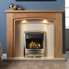 GAL071 - Allerton MDF Mantel Surround (Light Oak)