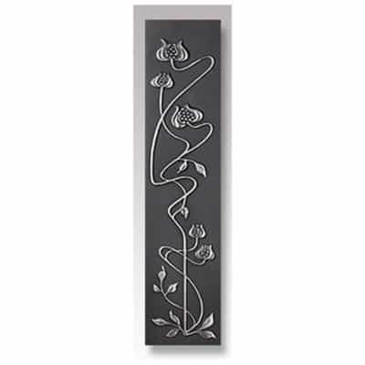 RT110 - Cast Tec Mediterranean Poppy Polished Cast Iron Sleeves