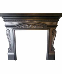 Antique Detailed Cast Iron Surround