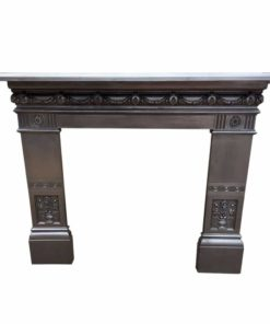 CS075 - Original Roped Cast Iron Surround