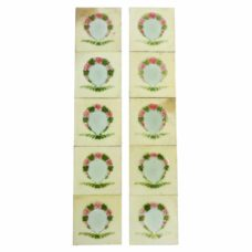 OT125 - Original Floral Band Fireplace Tiles