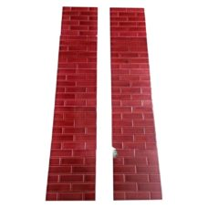 OT146B - Small Red Brick Fireplace Tiles