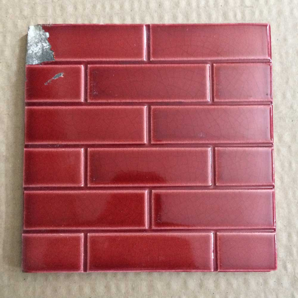 Small Red Brick Fireplace Tiles From Victorian Fireplace