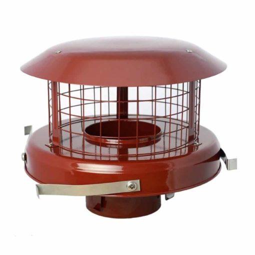 """5"""" High Top Flex Pot Hanger Cowl (Stainless Steel Brown)"""