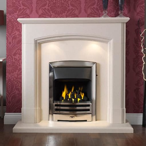 Broughton Suite In Satin Beinge Micro Marble
