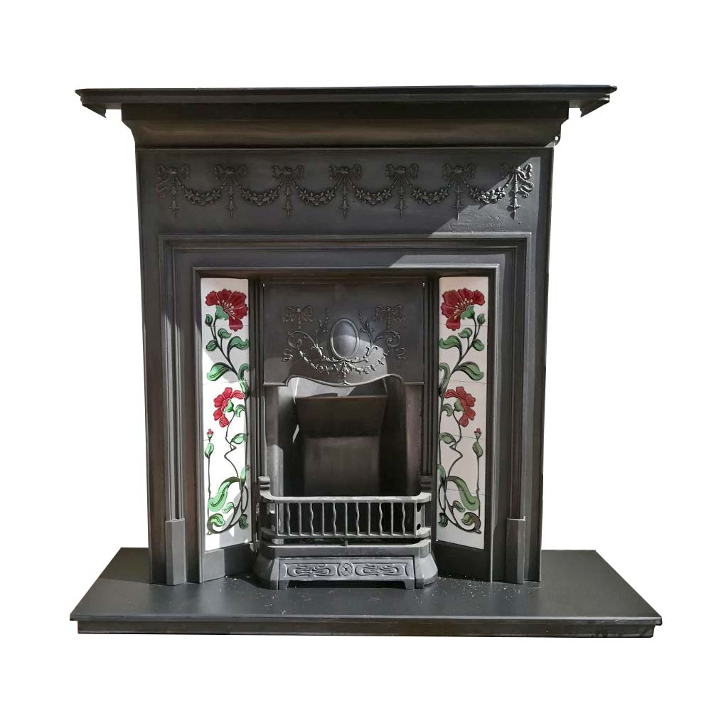 View this Combination Cast Iron Fireplace which has been fully restored and is ready to fit. Give us a quick call on 0161-477-8980.