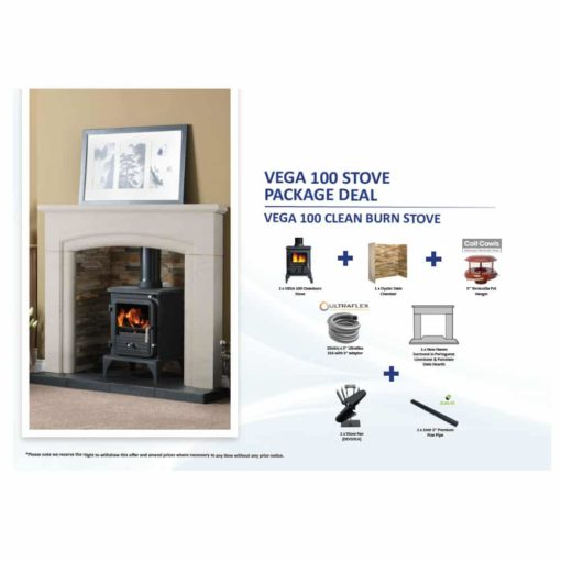 Vega 100 Stove Package